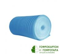 Вспененный полиэтилен. Длина 50 п/м. Ширина 1000 мм. Толщина 2 мм.
