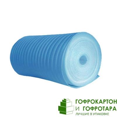 Вспененный полиэтилен. Длина 50 п/м. Ширина 1050 мм. Толщина 1 мм.