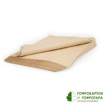 Жиростойкая бумага. Формат 375х280 мм. Плотность: 50 г/м2