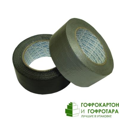 Клейкая лента (скотч) TPL черная. Размер: 50мм х 50м. Плотность 180 г/м2.