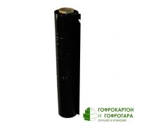 Черная стрейч-пленка. Ширина 500 мм. Длина 140 п/м. Плотность 20 Мкм.