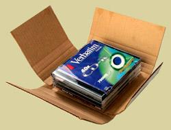 Диски в картонной коробке