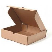Картонная коробка с откидной крышкой (шкатулка)