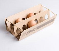 нестандартная упаковка для куриного яйца