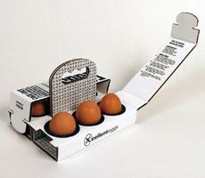 нестандартная упаковка для яиц