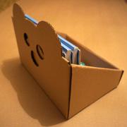 картонные коробки для хранения книг